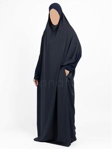 Sunnah Style - Signature Full Length Jilbab (Navy Blue)