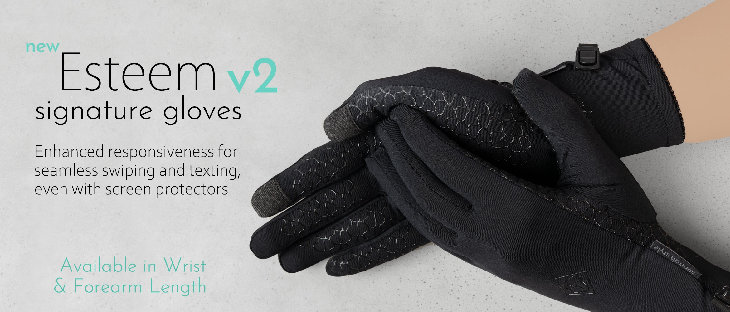 Sunnah Style Esteem Signature Touchscreen Gloves v2
