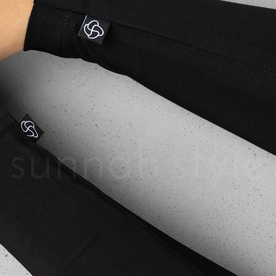 Jersey Arm Covers (Black)