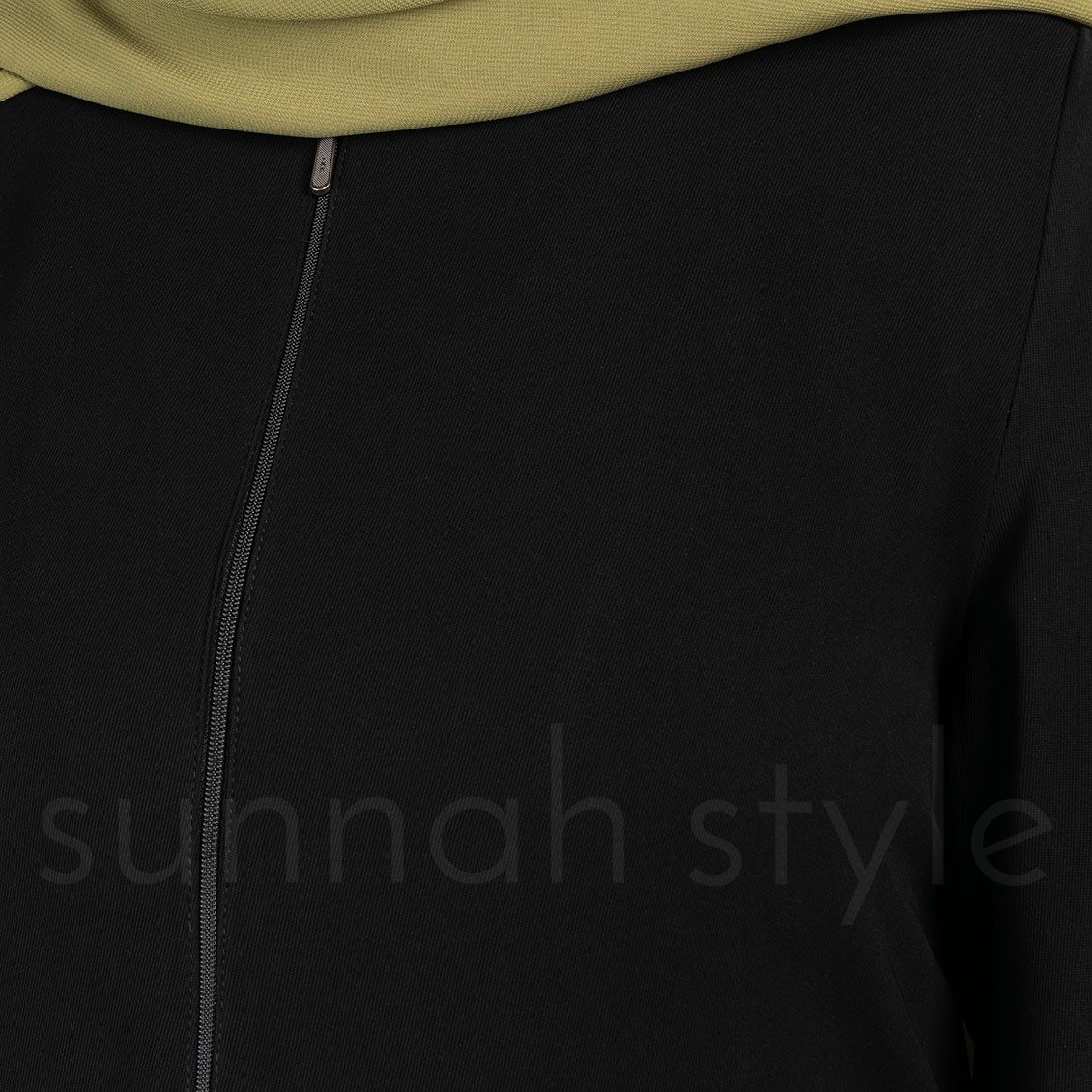 Sunnah Style Essentials Closed Abaya Slim Black