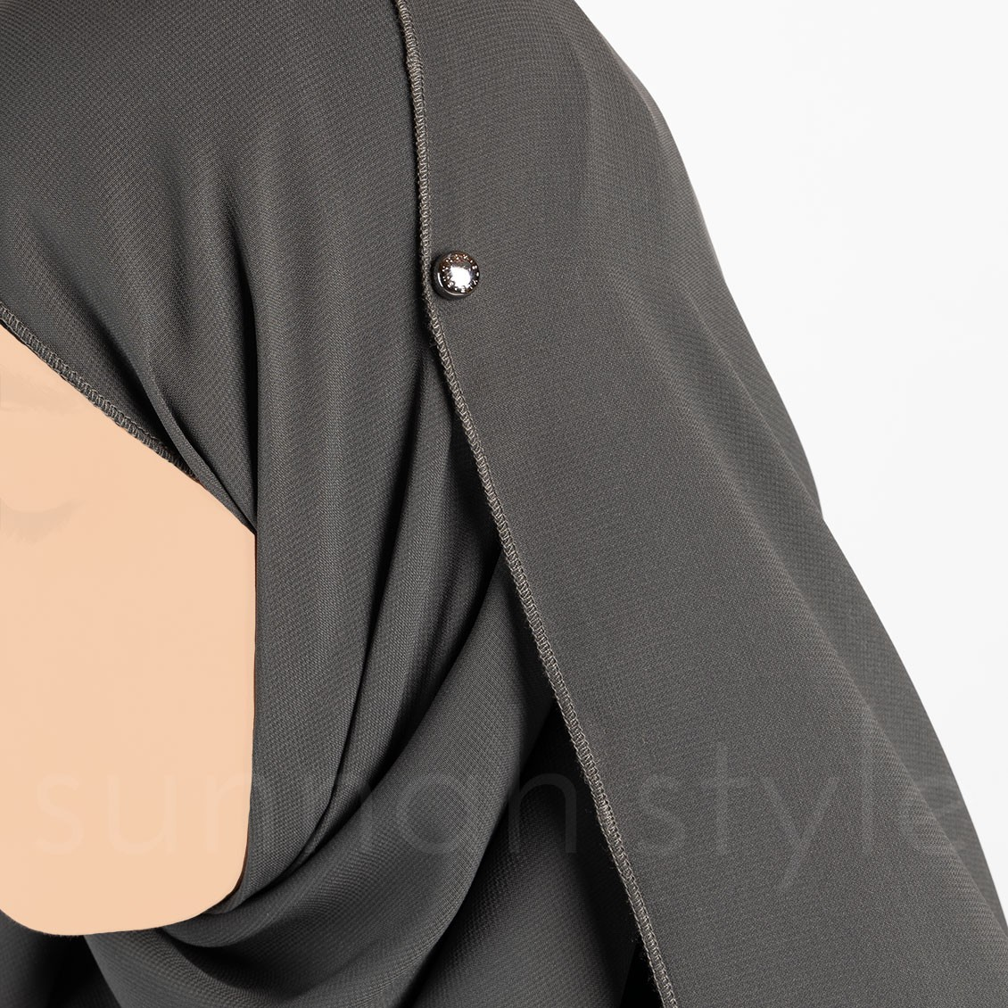 Sunnah Style Esteem Wearable Hijab Magnets Gunmetal