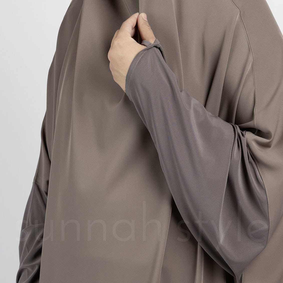 Signature Full Length Jilbab (Driftwood)