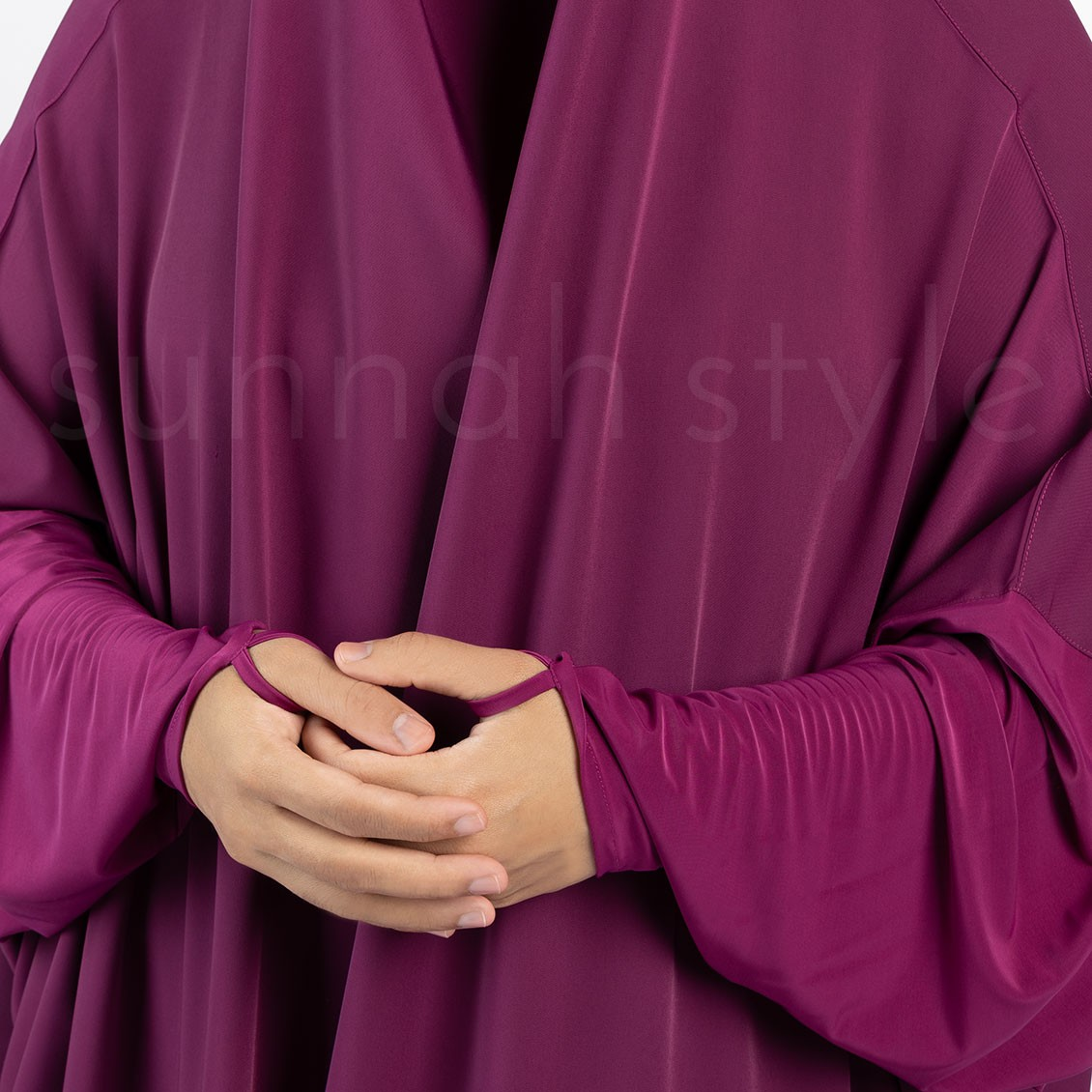 Signature Full Length Jilbab (Magenta)