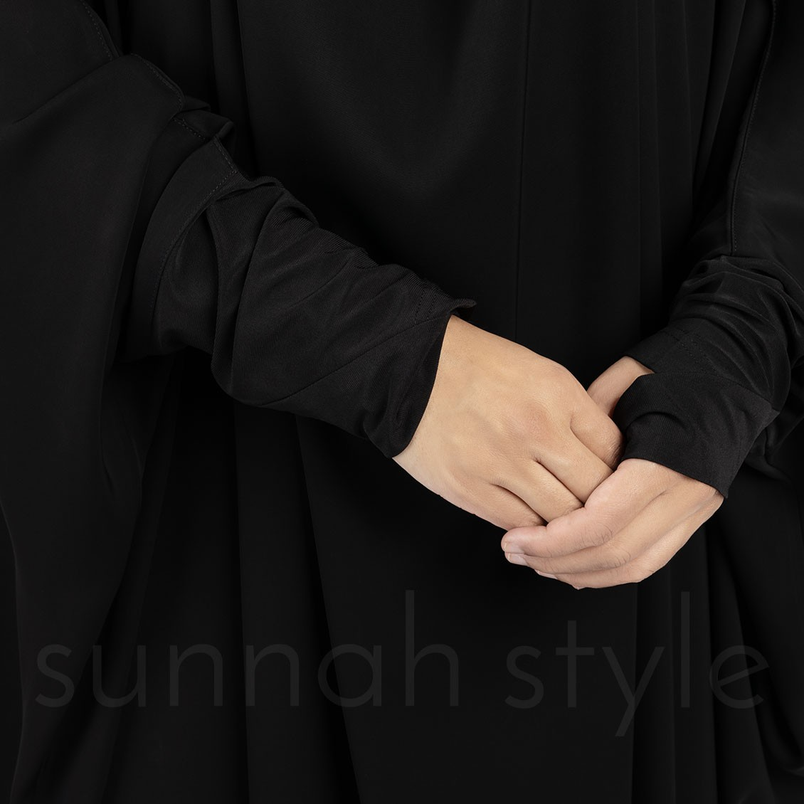 Essentials Full Length Jilbab (Black)