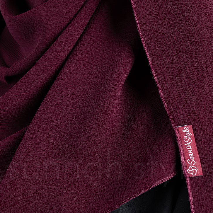 Brushed Shayla (Burgundy)